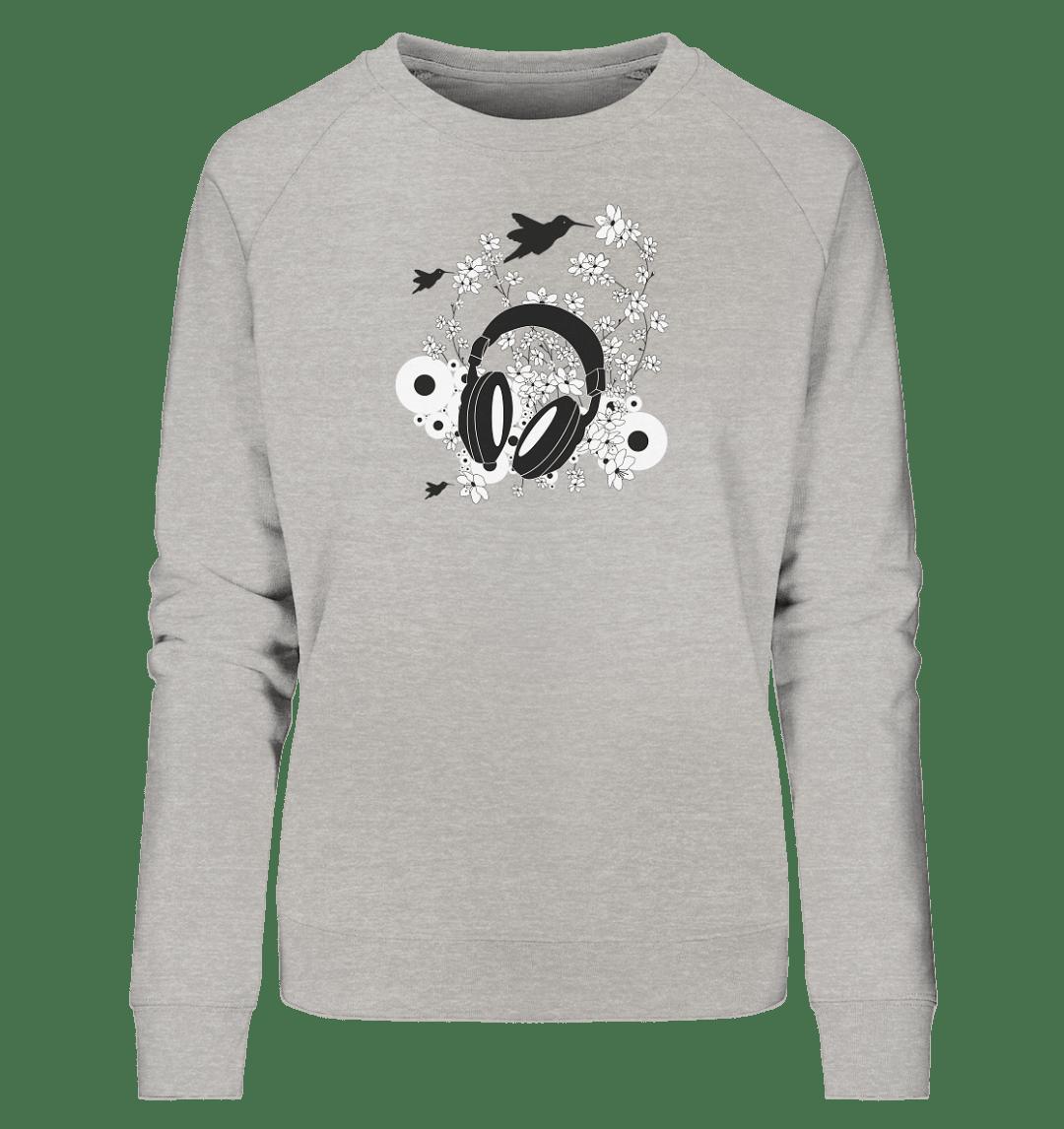 front ladies organic sweatshirt c2c1c0 Cherry Blossom Sound - Ladies Organic Sweatshirt
