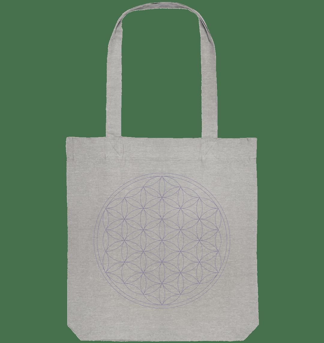front organic tote bag c2c1c0 Blume des Lebens - Organic Tote-Bag