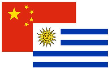 Resultado de imagen para Uruguay China