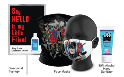 Vision Media launches a line of custom-branded PPE Products