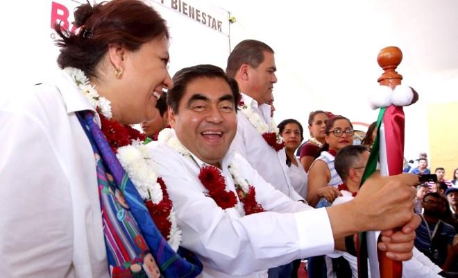 Miguel Barbosa visita Xicotepec de Juárez