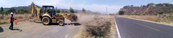 Transitable las rutas de evacuación del volcán