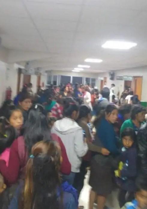 200 NIÑOS INTOXICADOS EN LA SIERRA DE ZONGOLICA, FESTEJABAN EL DÍA DEL NIÑO