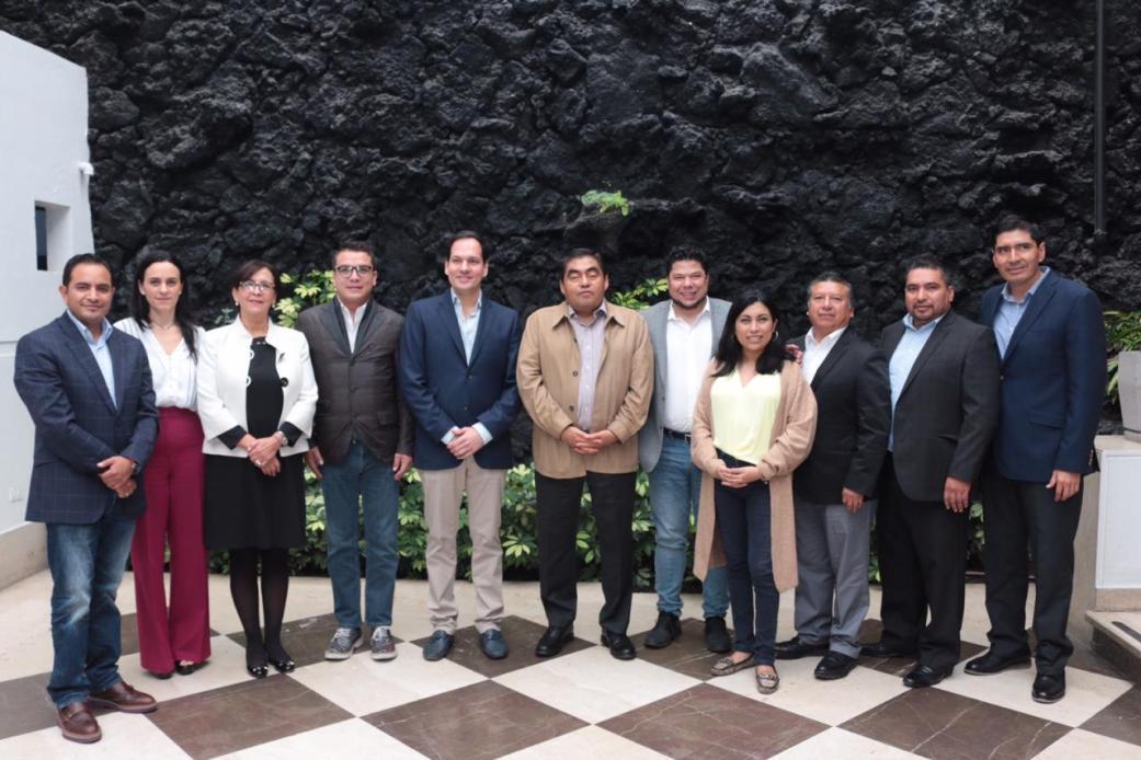 CONCRETAN PRIMERA REUNIÓN DE TRABAJO CONGRESO DEL ESTADO Y MIGUEL BARBOSA