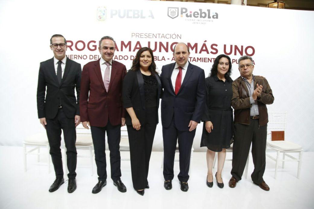 GOBIERNO DE LA CIUDAD Y DEL ESTADO CELEBRAN ALIANZA CON EL PROGRAMA UNO MÁS UNO