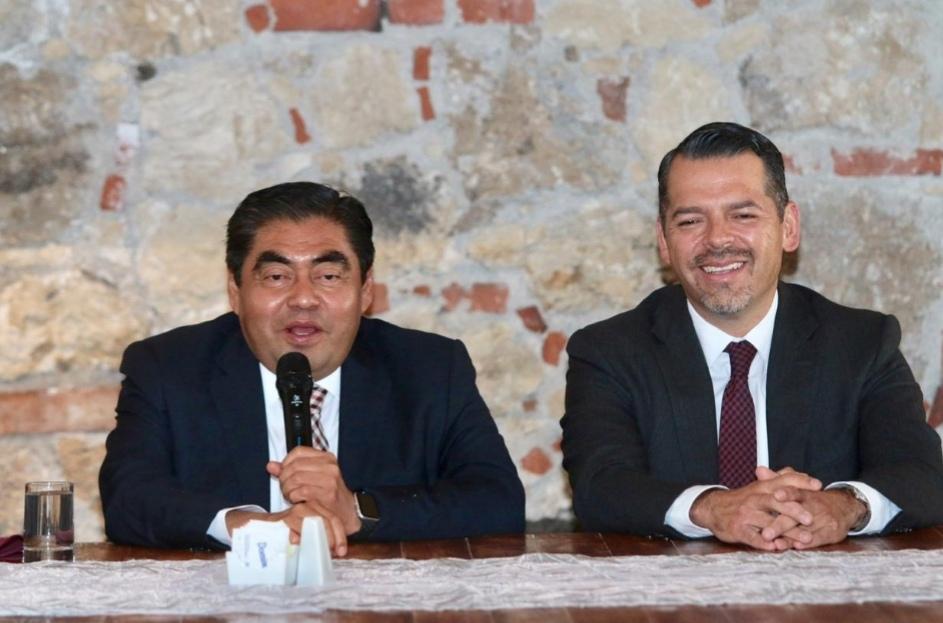 RELACIÓN REPUBLICANA CON EL PODER JUDICIAL, OFRECE MIGUEL BARBOSA HUERTA