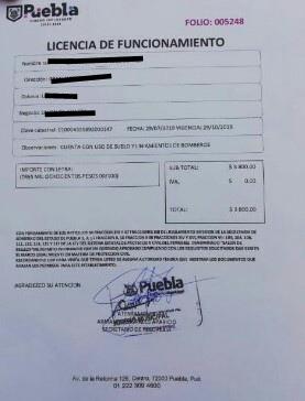FALSOS INSPECTORES EXPIDEN LICENCIAS DE FUNCIONAMIENTO APÓCRIFAS
