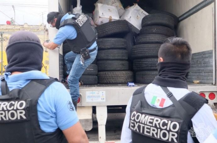 OPERATIVO CONJUNTO PERMITE EL DECOMISO DE TONELADAS DE AUTOPARTES EN LA 46 PONIENTE