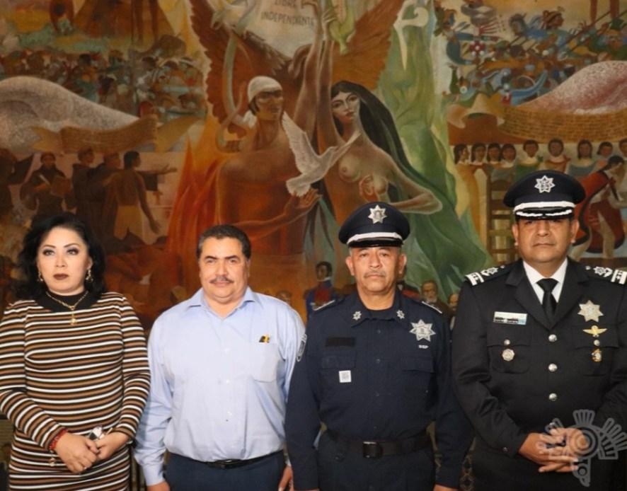 COLABORA SSP CON CABILDO DE TEHUACÁN PARA GARANTIZAR LA SEGURIDAD EN ESE MUNICIPIO
