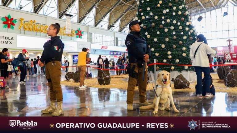 DESPLEGARÁ SSC DE PUEBLA A MÁS DE MIL 500 ELEMENTOS DURANTE EL OPERATIVO GUADALUPE – REYES