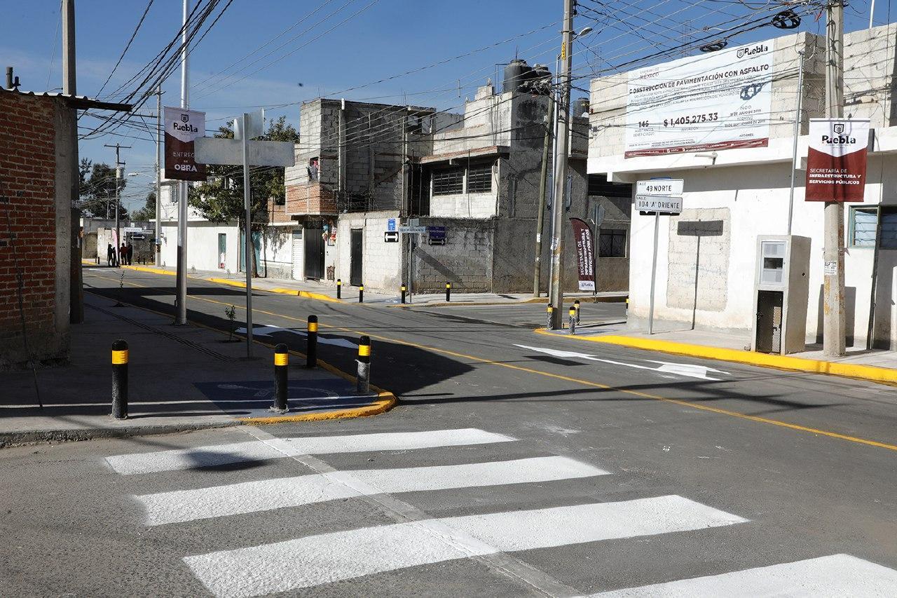 ENTREGAN 6 CALLES PAVIMENTADAS EN BOSQUES DE SANTA ANITA