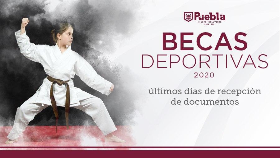 ÚLTIMA SEMANA PARA INSCRIPCIÓN A BECAS DEPORTIVAS 2020