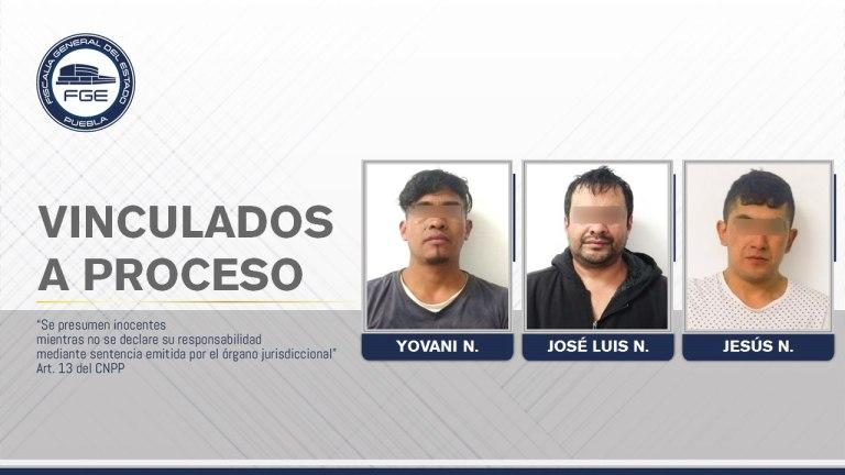 PRESUNTOS NARCOMENUDISTAS DETENIDOS POR LA FISCALÍA DE PUEBLA FUERON VINCULADOS