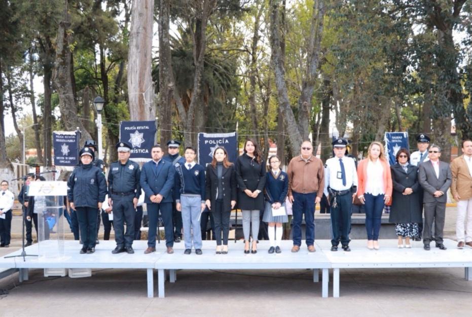 SSP ESTATAL Y AYUNTAMIENTO DE HUEJOTZINGO SUMAN ESFUERZOS E IMPLEMENTAN ACCIONES DE PREVENCIÓN PARA ESTUDIANTES
