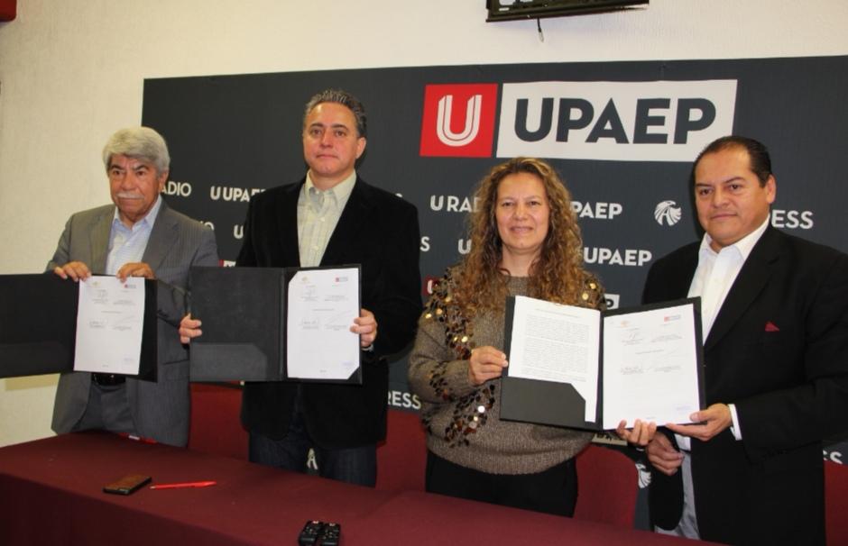UPAEP Y FUNDACIÓN PRODUCE PUEBLA FIRMAN CONVENIO PARA APROVECHAMIENTO DEL AGAVE MEZCALERO