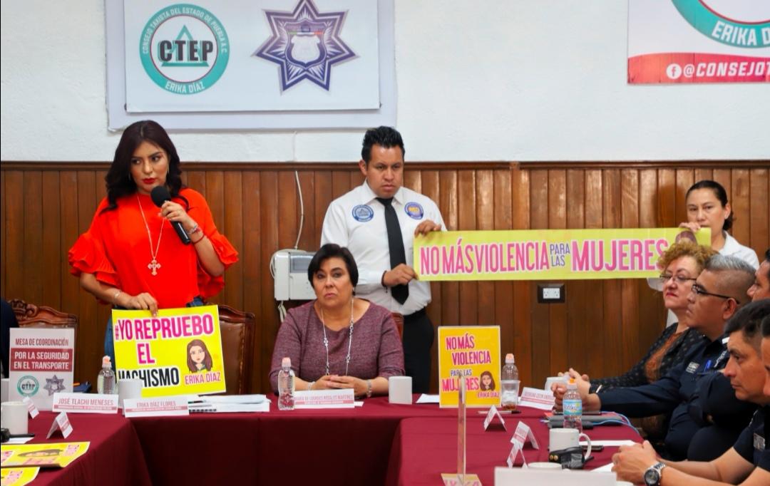 SUMAN ESFUERZOS POLICÍA MUNICIPAL DE PUEBLA Y CONSEJO TAXISTA DEL ESTADO POR UNA CIUDAD MÁS SEGURA