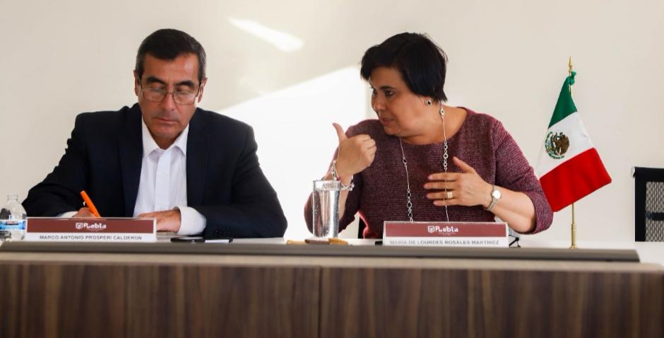 SOSTUVO LOURDES ROSALES REUNIONES DE TRABAJO CON LÍDERES EMPRESARIALES DE PUEBLA