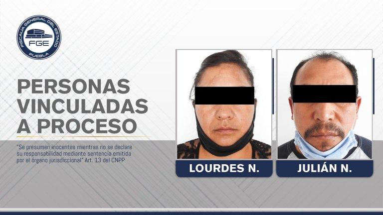 DAN PRISIÓN PREVENTIVA A MADRE Y PADRASTRO SEÑALADOS DE VIOLACIÓN