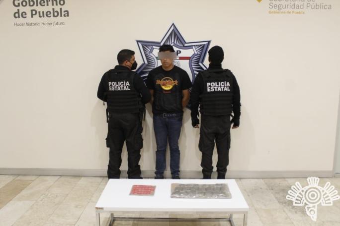 """NARCOVENDEDOR DE """"LOS LAVADEROS"""", DETENIDO POR LA POLICÍA ESTATAL"""