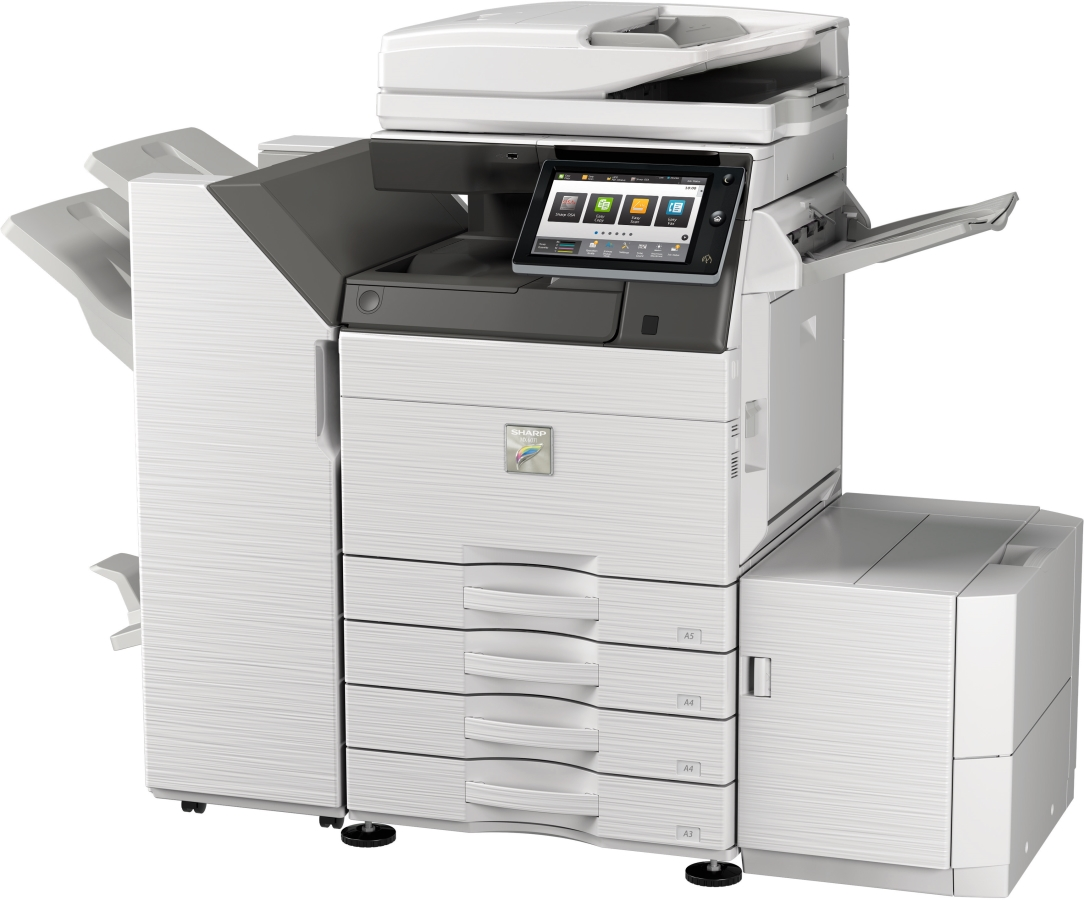 Sharp MX-42 B&W Copier  Vision Office Systems of Charlotte
