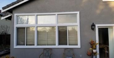 Baclyard House Paint Vinyl Windows
