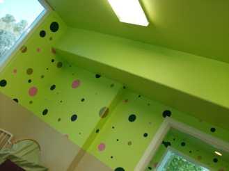 Indoor Green Paintjob
