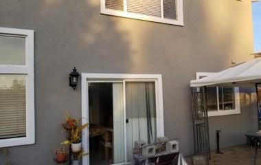 Outside House Paint Backyard