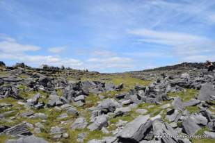 Defensive stones and walls on Inishmore