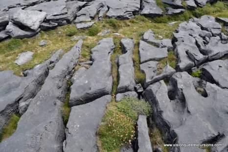 Inishmore rocky path