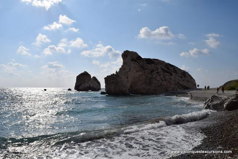Aphrodite Rock Cyrpus tours