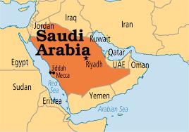 Saudi Arabia map1