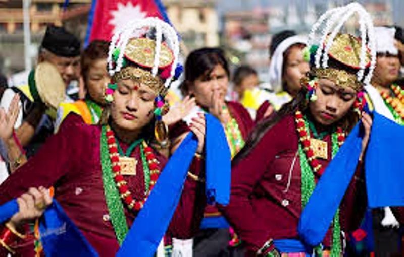 Gurung Folk Dance