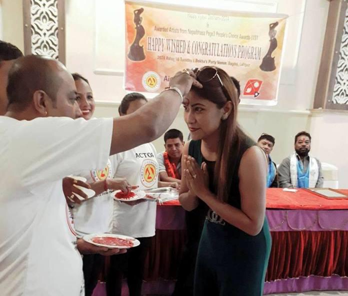 Vetran Actress M/s Bhintuna Joshi