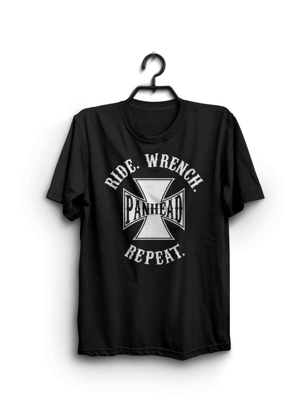 Ride Wrench Repeat Panhead Shirt