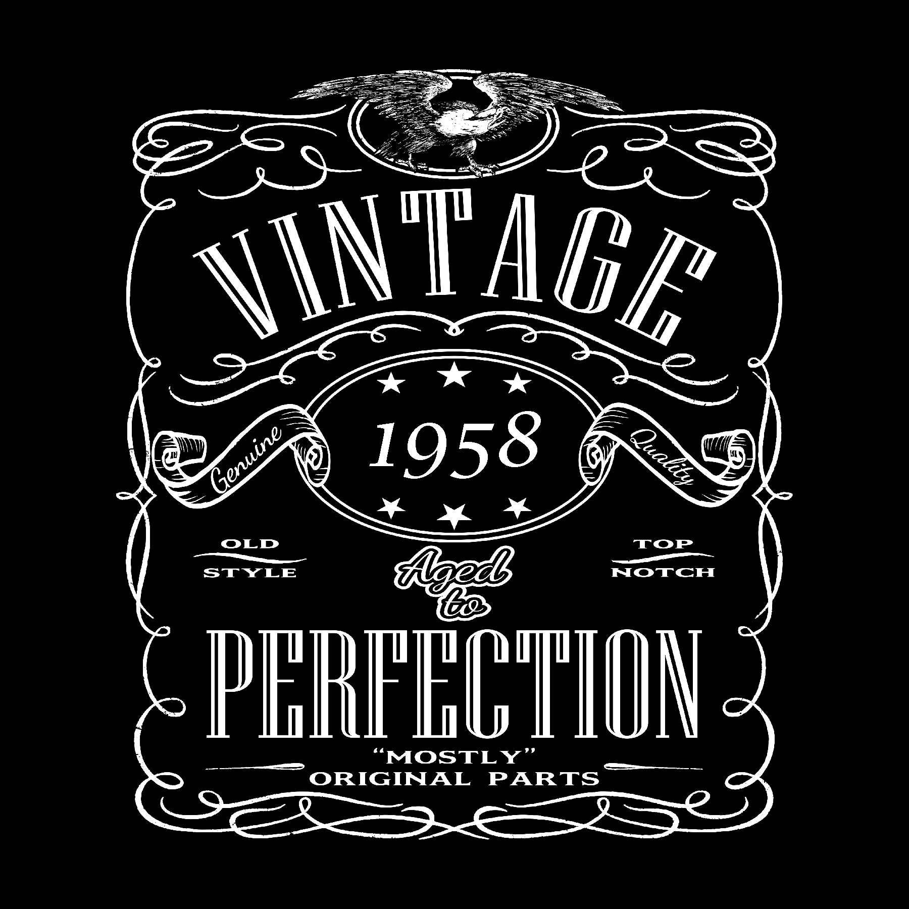 60th birthday shirt born in 1958 birthday shirt 60th birthday
