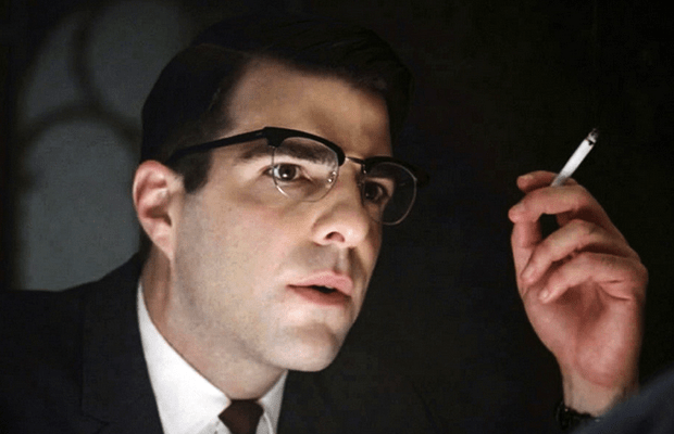 Zachary Quinto from American Horror Story : The Glasses