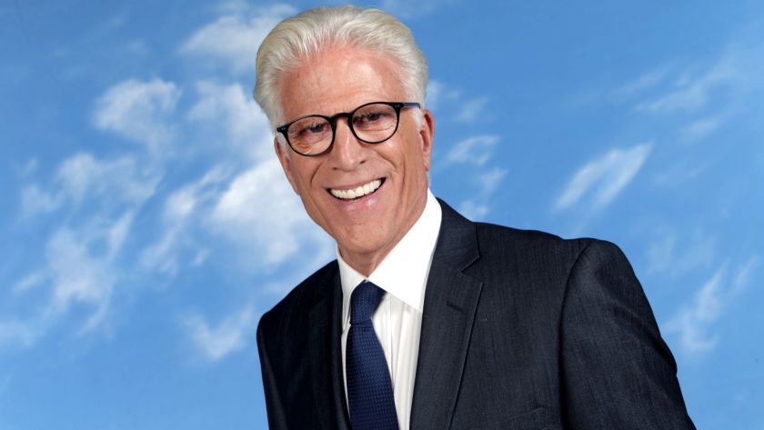 Ted Danson's cool look