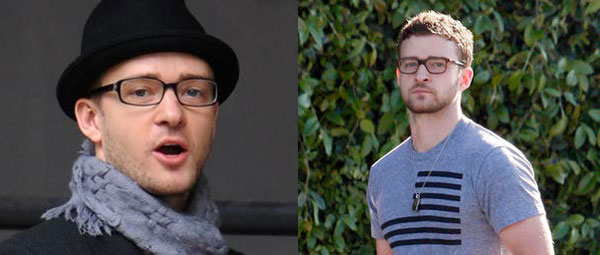Justin Timberlake – geek glasses
