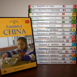 Families of the World DVD's-Families of Brazil -0