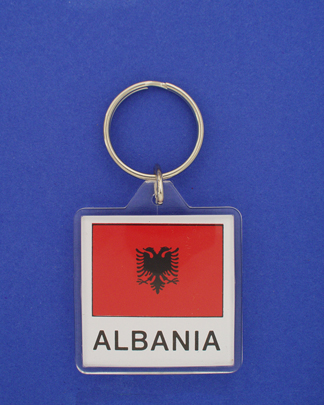 Albania Keychain-0