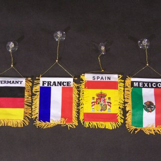 Window Flags-Spain -0