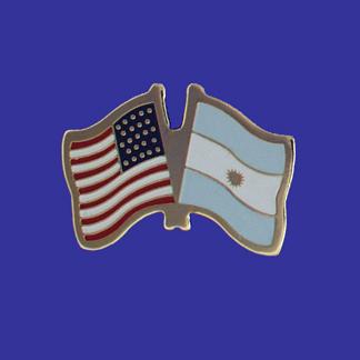 USA+Argentina Friendship Pin-0