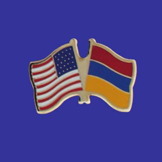 USA+Armenia Friendship Pin-0