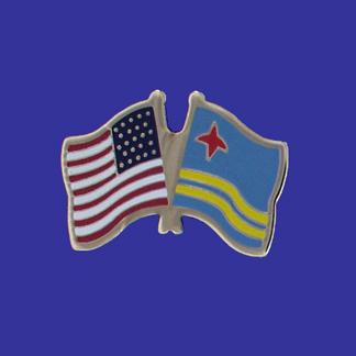 USA+Aruba Friendship Pin-0