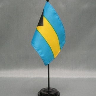 "Bahamas-4"" x 6"" Desk Flag-0"