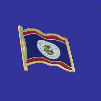 Belize Lapel Pin-0