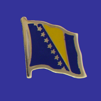 Bosnia-Herzegovina Lapel Pin-0