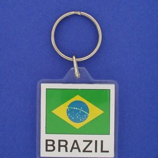 Brazil Keychain-0
