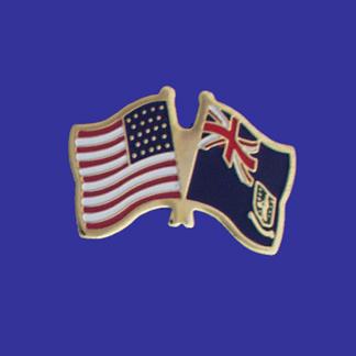 USA+British Virgin Islands Friendship Pin-0