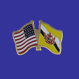 USA+Brunei Friendship Pin-0